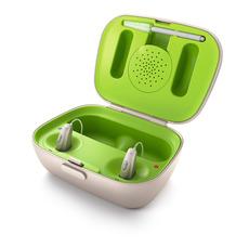 電池不要の補聴器のご紹介! -PHONAK編-